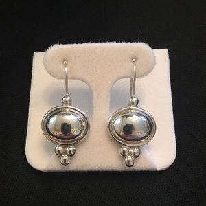 Beautiful Sterling Silver Mexico Earrings